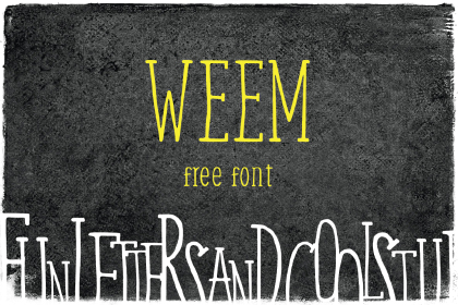 Weem – Free Font