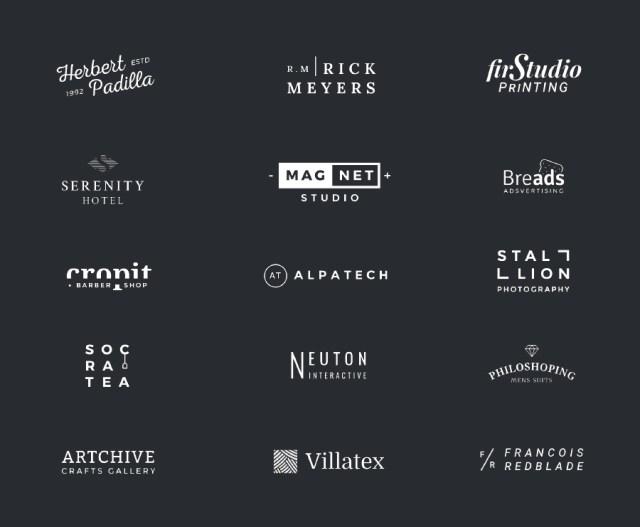 Free Minimal Logo Templates Vol-01