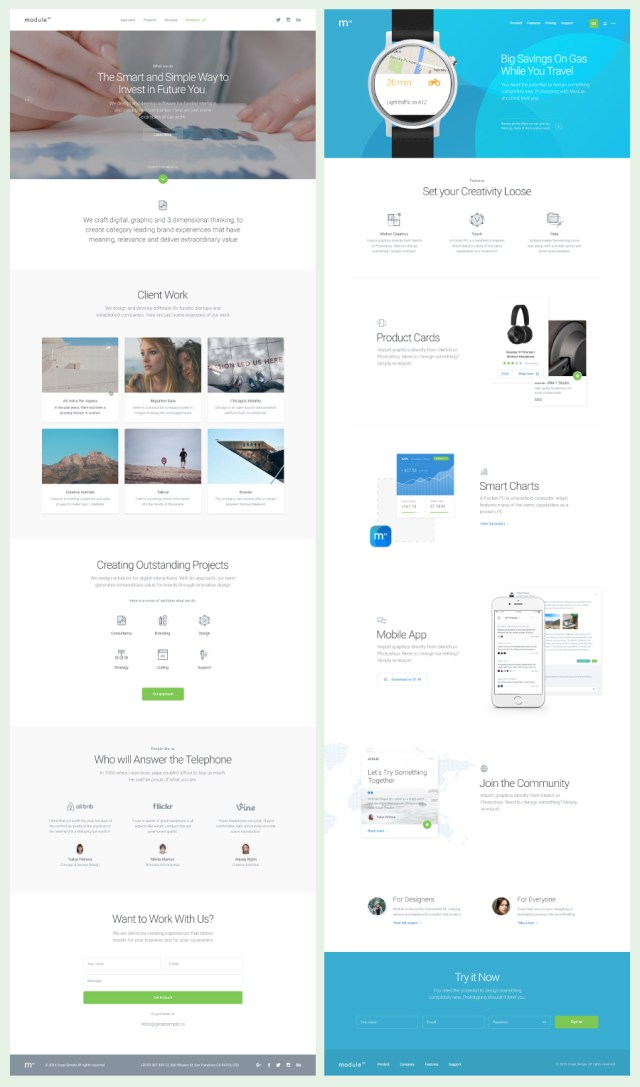 Module 02 UI Kit – Free Sample