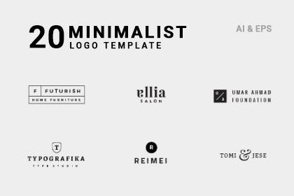 20 Minimal Vector Logo Templates