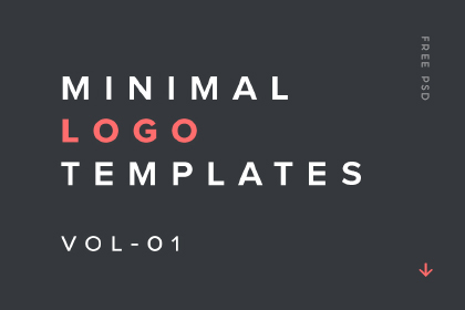 Minimal Logo Templates Vol-01