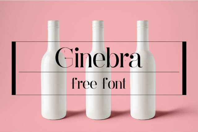 Ginebra Free Font