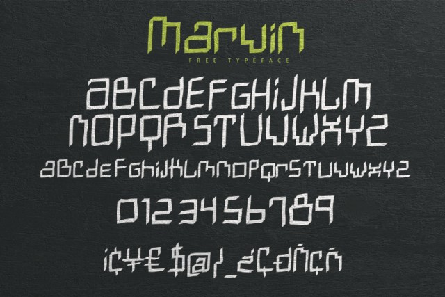 Free Marvin Typeface