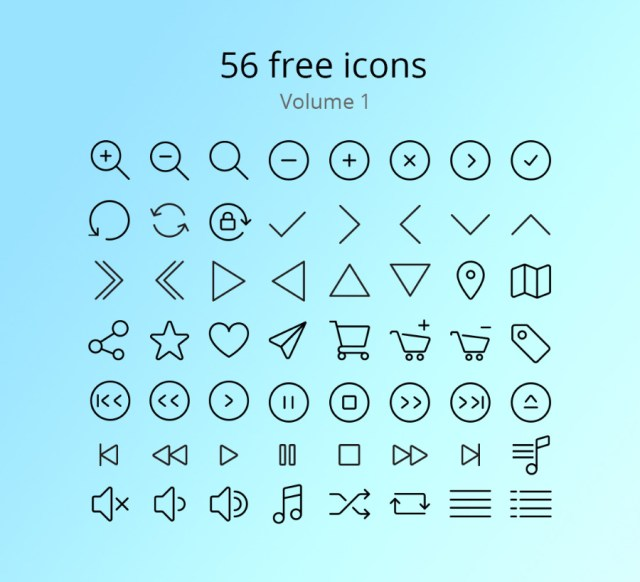 56 Free Vector Icons