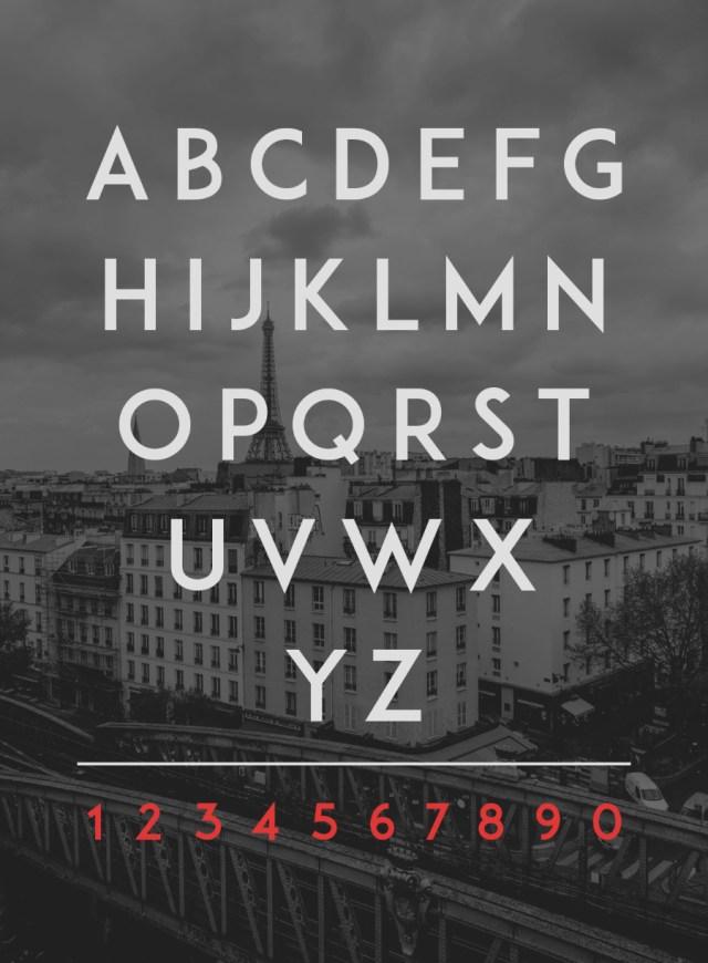 ADAM CG Pro Free Typeface