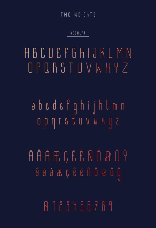 Bastell Free Typeface