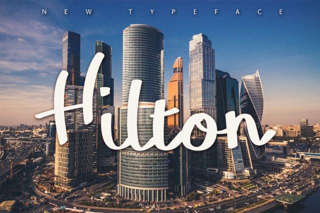 Free - Hilton Typeface