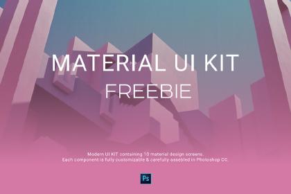 Free - Material UI Kit
