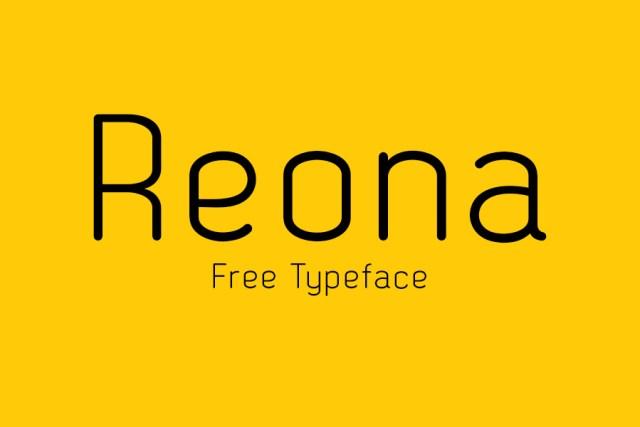 Reona - Free Typeface