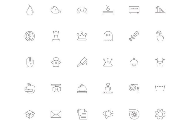 Slimicons 96 Free Line Icons