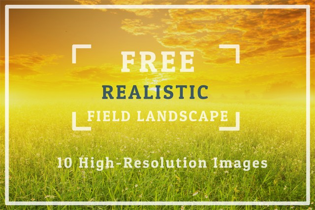 10 Free Realistic Landscape Background