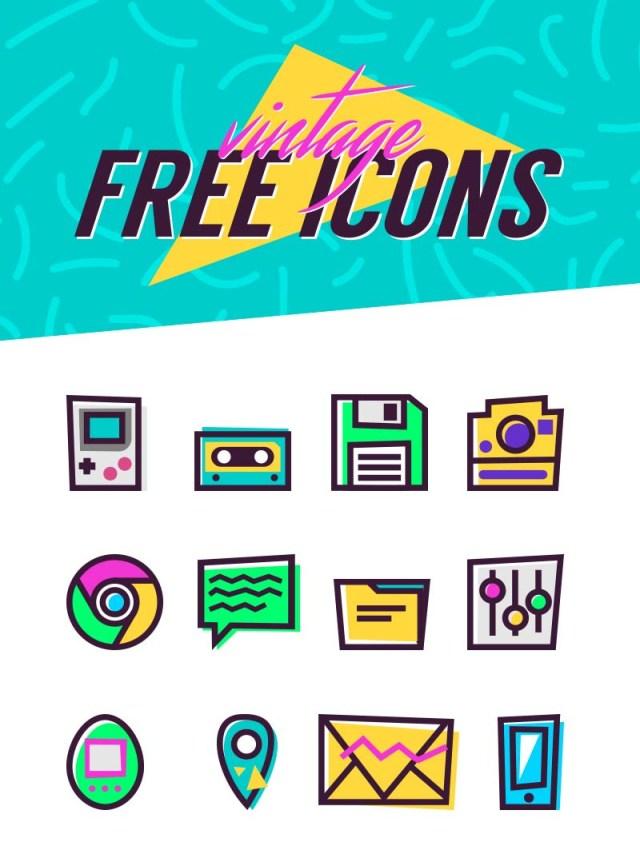 90's Vintage Icons