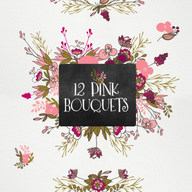 Free 12 Pink Bouquets