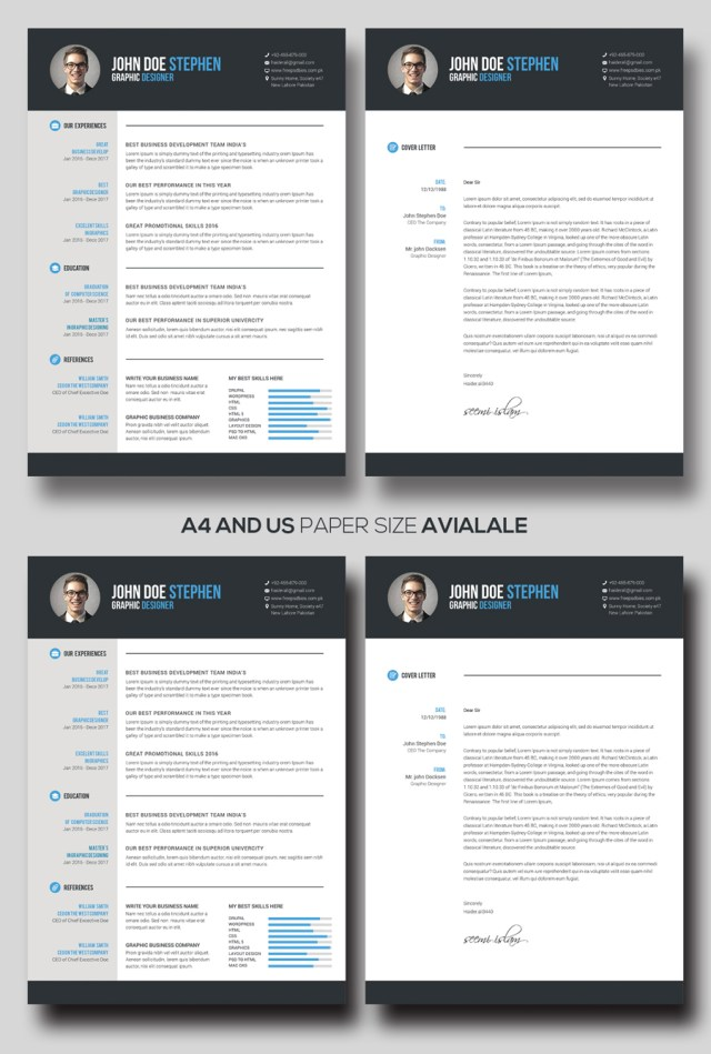 Free msword resume and cv template free design resources free msword resume and cv template yelopaper