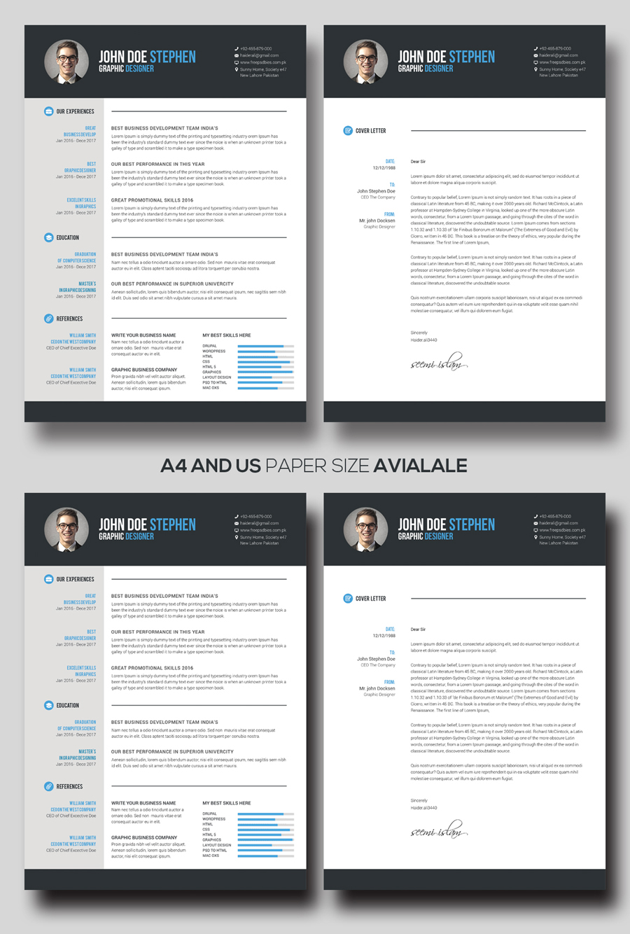 ... Free Ms.Word Resume And CV Template ...