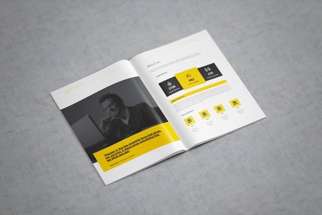 A4 Free Catalogue Mockup