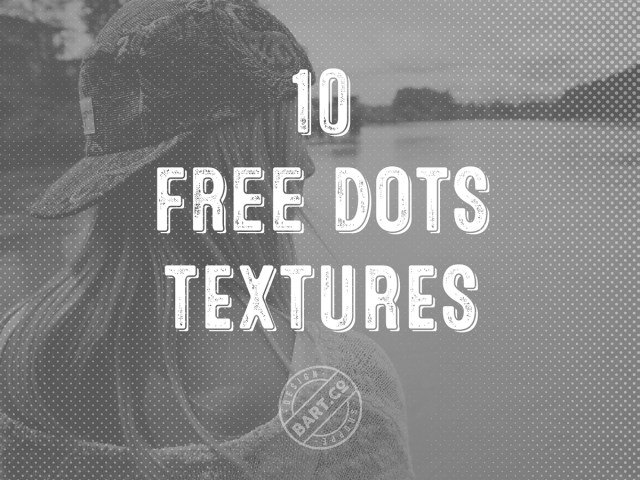 10 Free Halftone Dots Texture