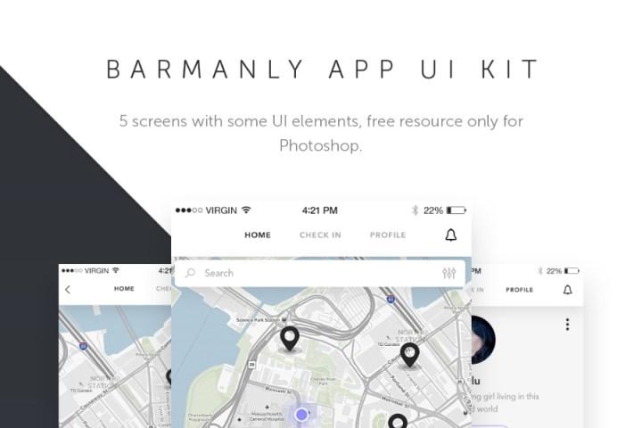 Free Barmanly App UI Kit