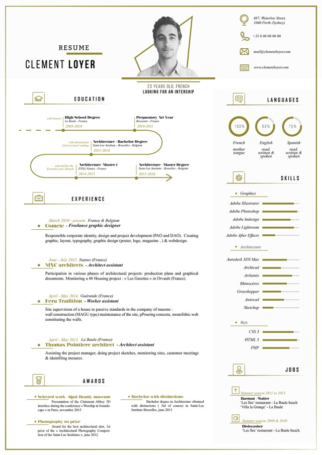 free fresh resume template free design resources