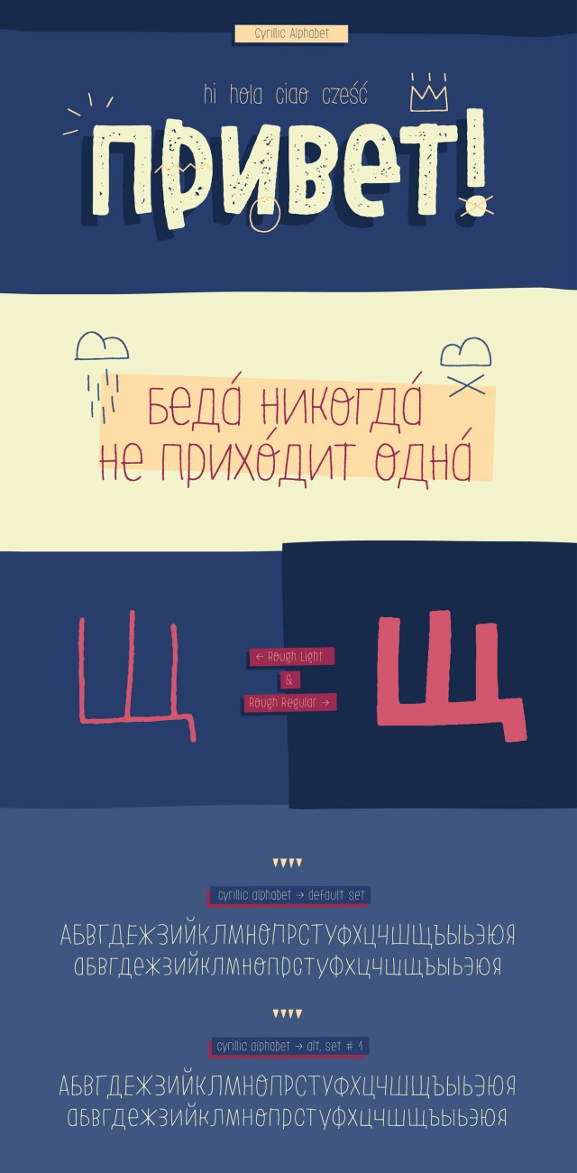 LeOsler Free Multilingual Typeface