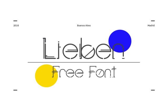 Lieben Display Free Font