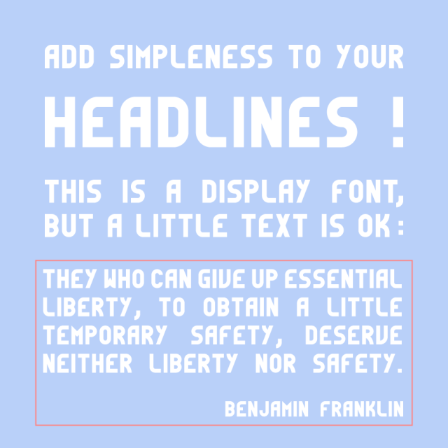 Simpleness Display Free TypefacePreview 3
