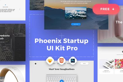 Phoenix Startup UI Kit Free Demo
