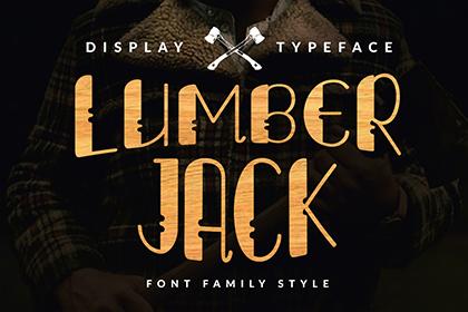 Lumberjack Font Free Demo