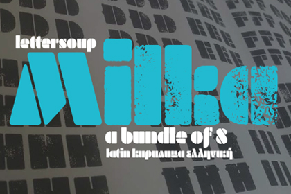 Milka Font Family Free Demo