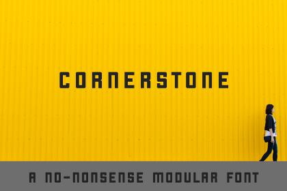 Cornerstone Free Typeface