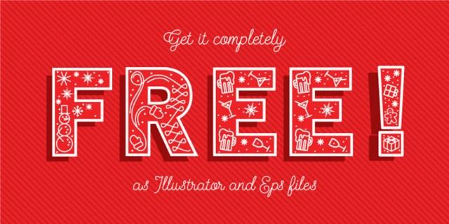 Christmas Vector Typeface