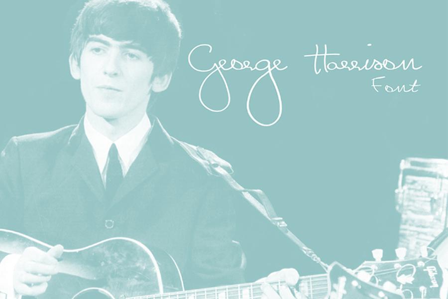 George Harrison Free Font