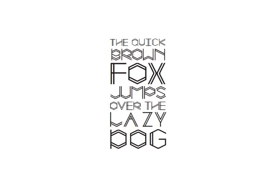 Lamp Free Display Typeface