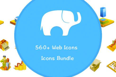 560 Web Icons