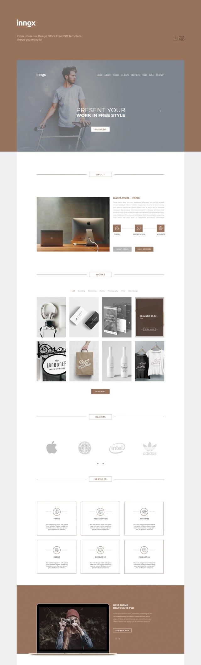Innox Free Creative Design Office