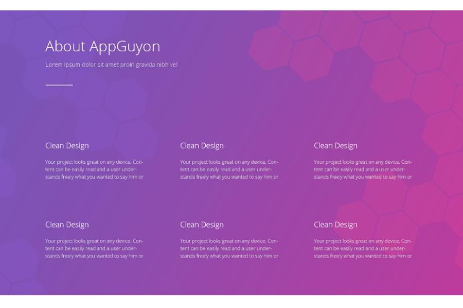 Guyon Homepage PSD Template