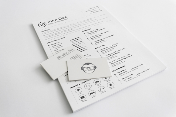 Sketch Resume Template
