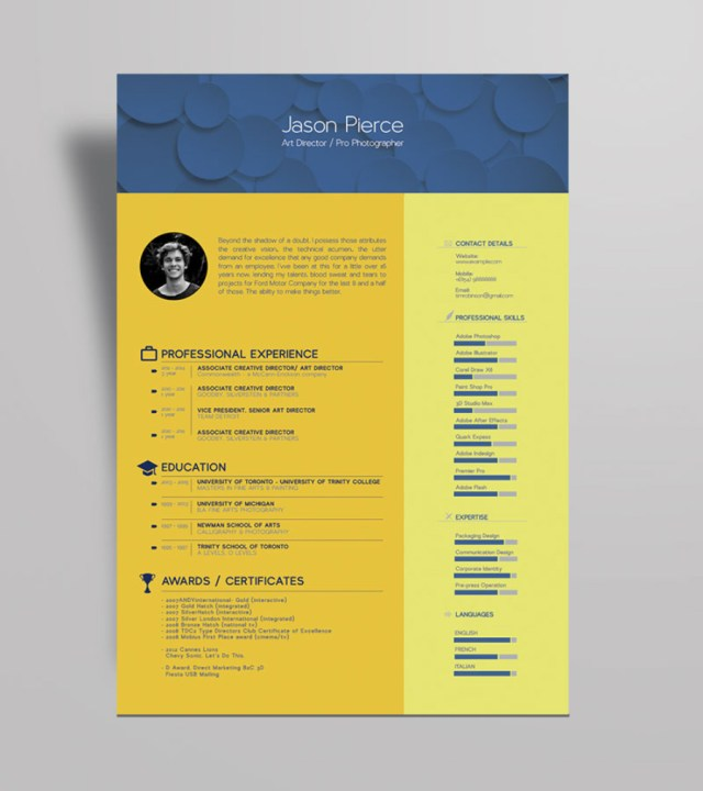 Beautiful Resume Template
