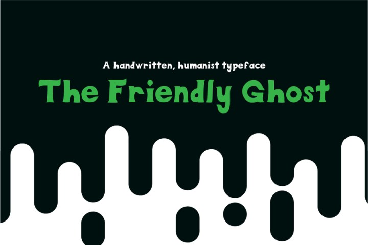 Friendly Ghost Free Font