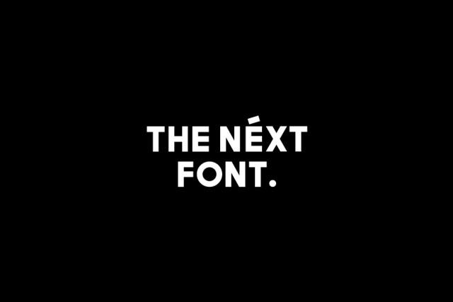 The Next Sans Free Typeface