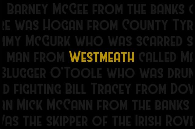 Westmeath Free Typeface
