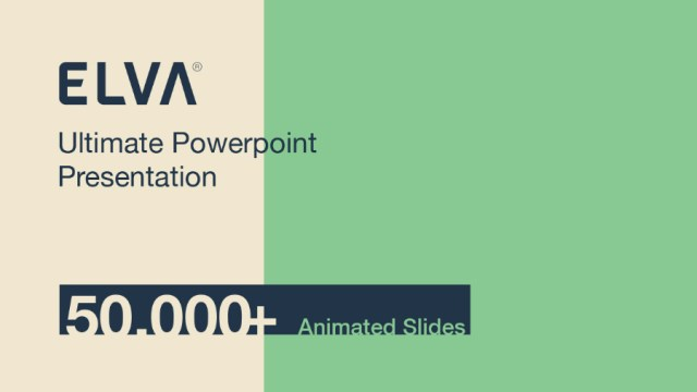 Elva Free Powerpoint Presentation Template Free Design Resources