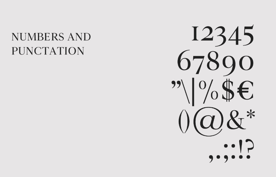 Novar Serif Free Typeface