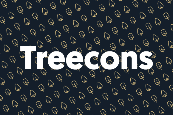 Treecons Free Vector Tree Icons