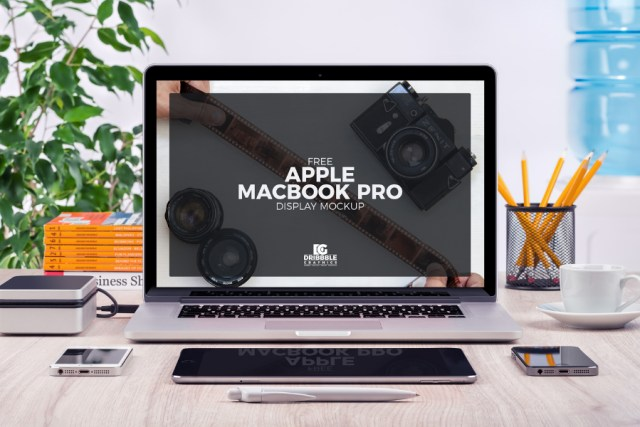 Macbook Pro Display Mockup