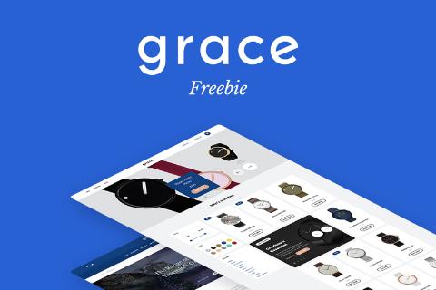 Grace UI Kit Free Sample