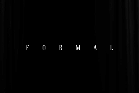 Formal Inline Free Typeface