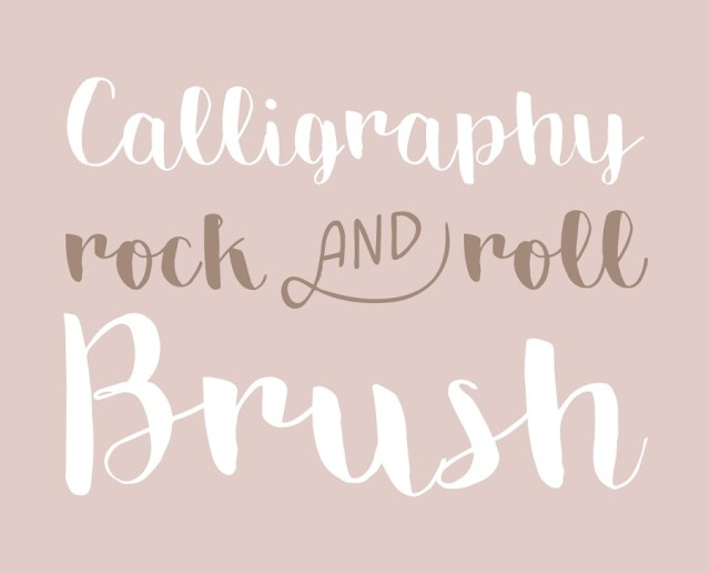 Emily Brush Free Typeface