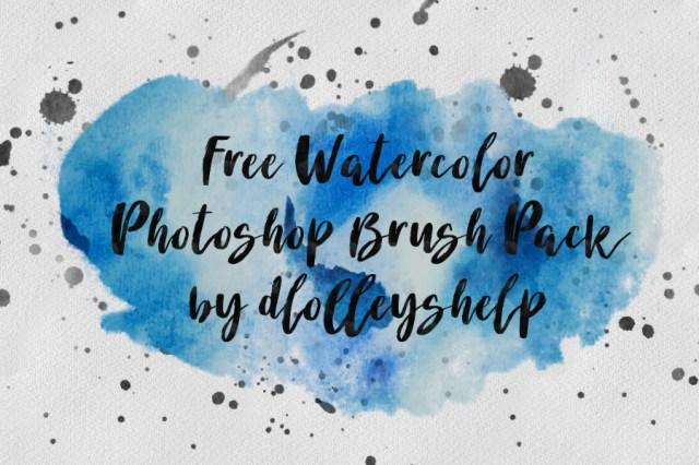 Free Watercolor Brush Pack
