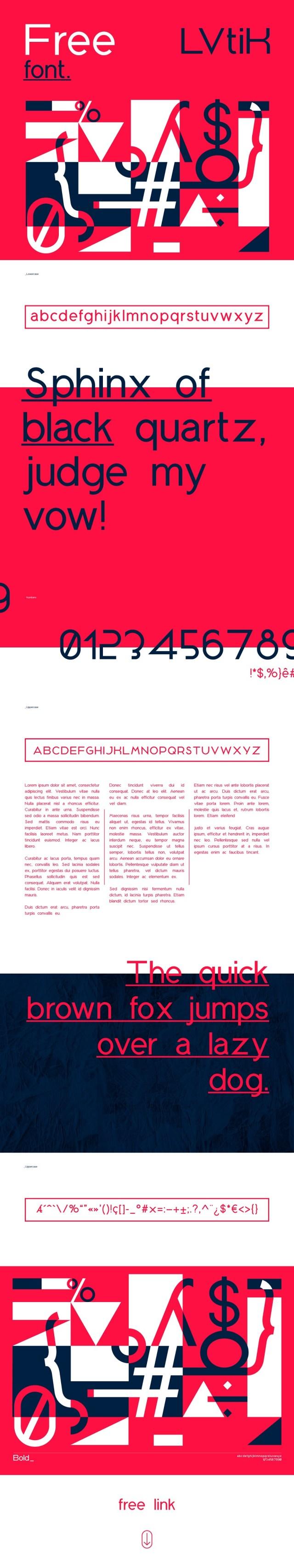 LVtiK Sans Free Typeface